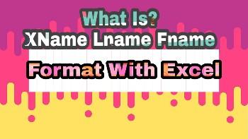 Xname lname