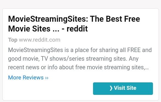 Reddit Movie Streams