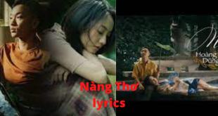 Nàng Thơ lyrics